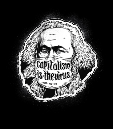 Capitalism is the virus - T-Shirt