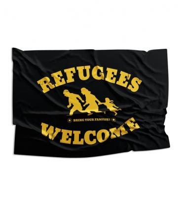Fahne - Refugees Welcome