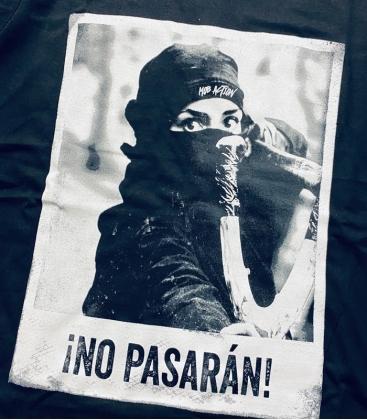 T-Shirt - No Pasaran - tailliert