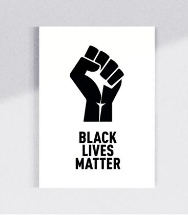 30 Sticker - Black Lives Matter