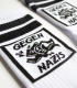 Tennissocken - Gegen Nazis - white
