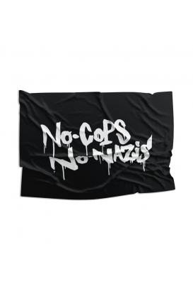 Fahne - No Cops No Nazis