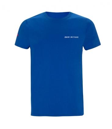 T-Shirt - Mob Action CALSSIC - blue