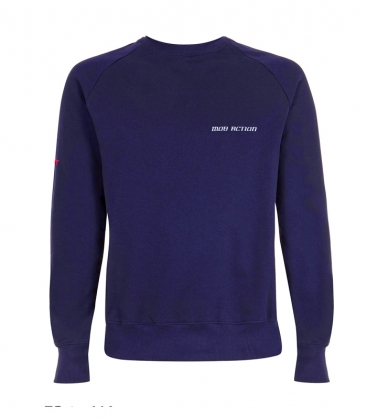Sweater - Mob Action CLASSIC - blue