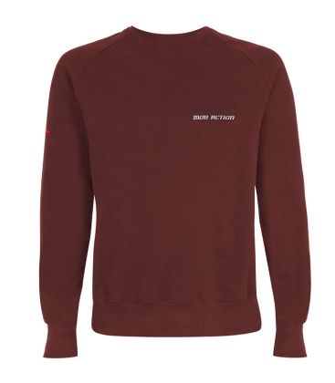 T-Shirt - Mob Action CLASSIC - burgundy
