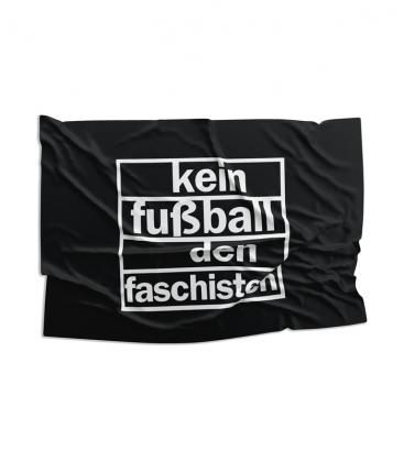 Fahne - Kein Fußball den Faschisten