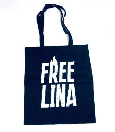 "Soli-Beutel ""Free Lina"""