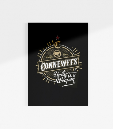 Poster - Connewitz Unity - A3
