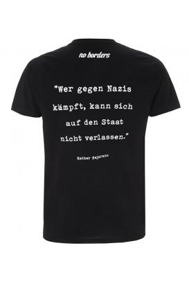 T-Shirt Wer gegen Nazis kämpft