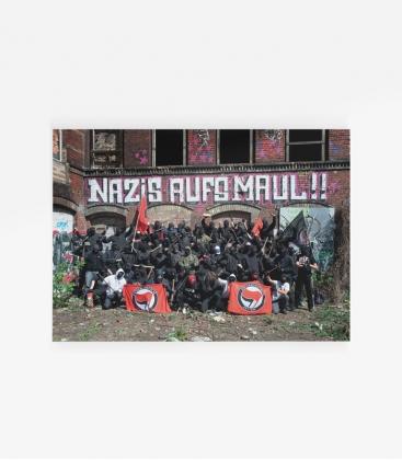 Poster Nazis aufs Maul