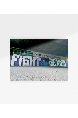 Poster - Fight Sexism - A3
