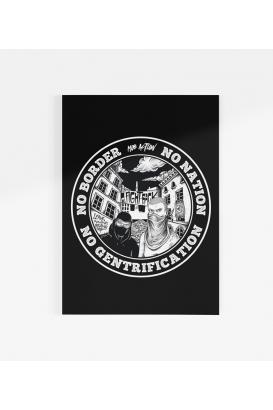 Poster - No Gentrification - A3