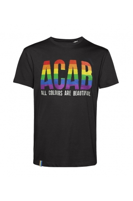 T-Shirts - ACAB - All Colours Are Beautiful - black