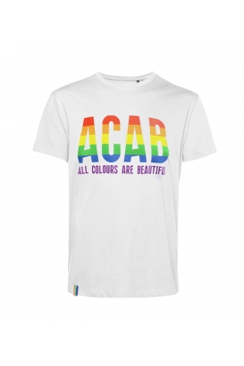T-Shirts - ACAB - All Colours Are Beautiful - white