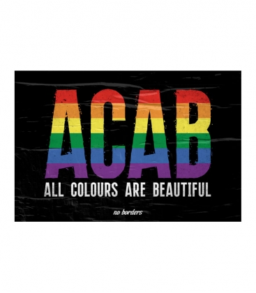 """Poster """"Poster ACAB"""" - A3"""